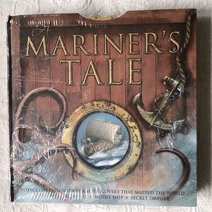Mariner's Tale Interactive Kids Book with compass